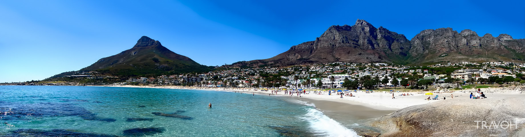 Camps Bay Beach - Exploring 10 of the Top Beaches in Cape Town, South Africa