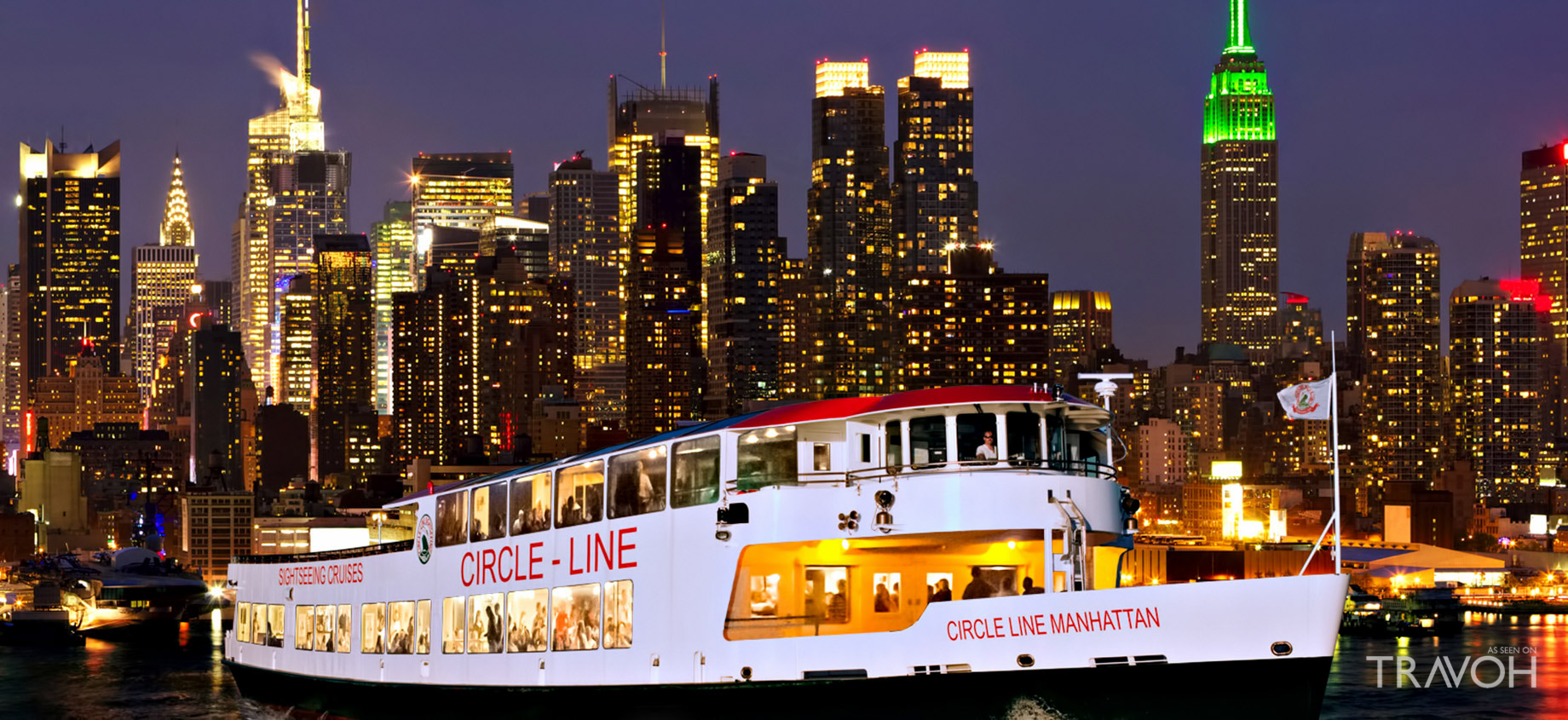 Circle Line Sightseeing Cruises - Pier 83, W42nd St, New York, NY
