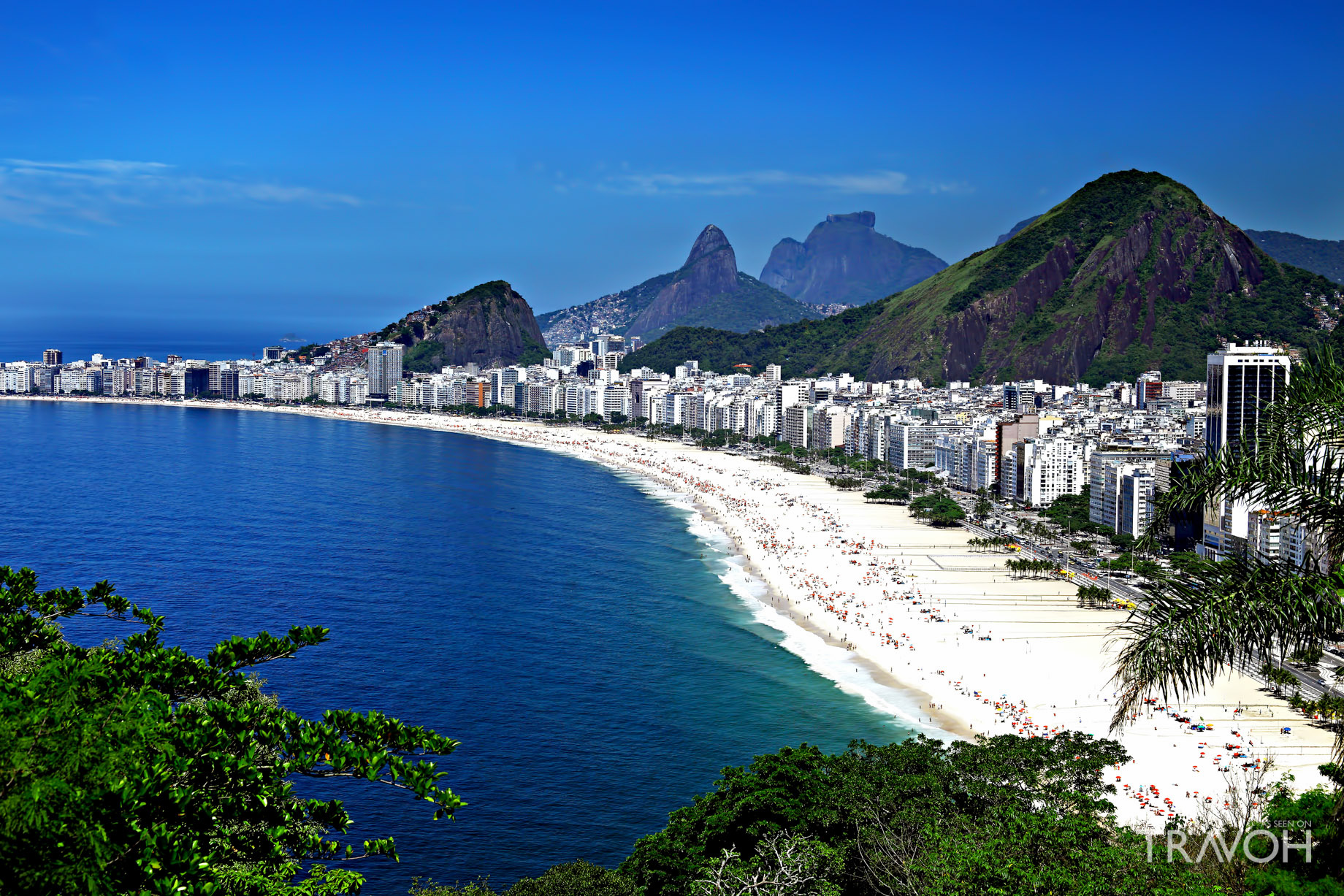 Copacabana Beach - Exploring 10 of the Top Beaches in Rio de Janeiro, Brazil