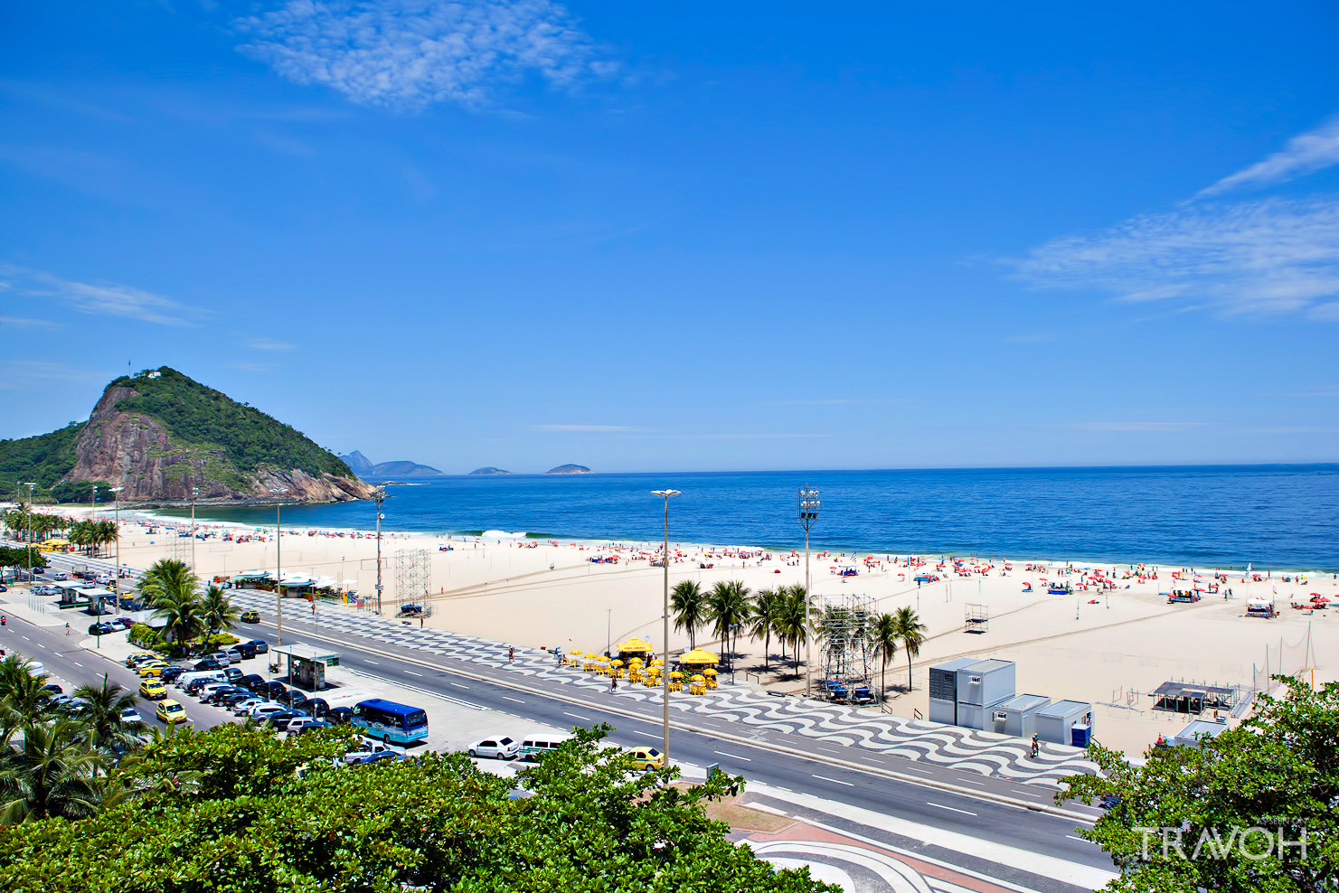Leme Beach - Exploring 10 of the Top Beaches in Rio de Janeiro, Brazil