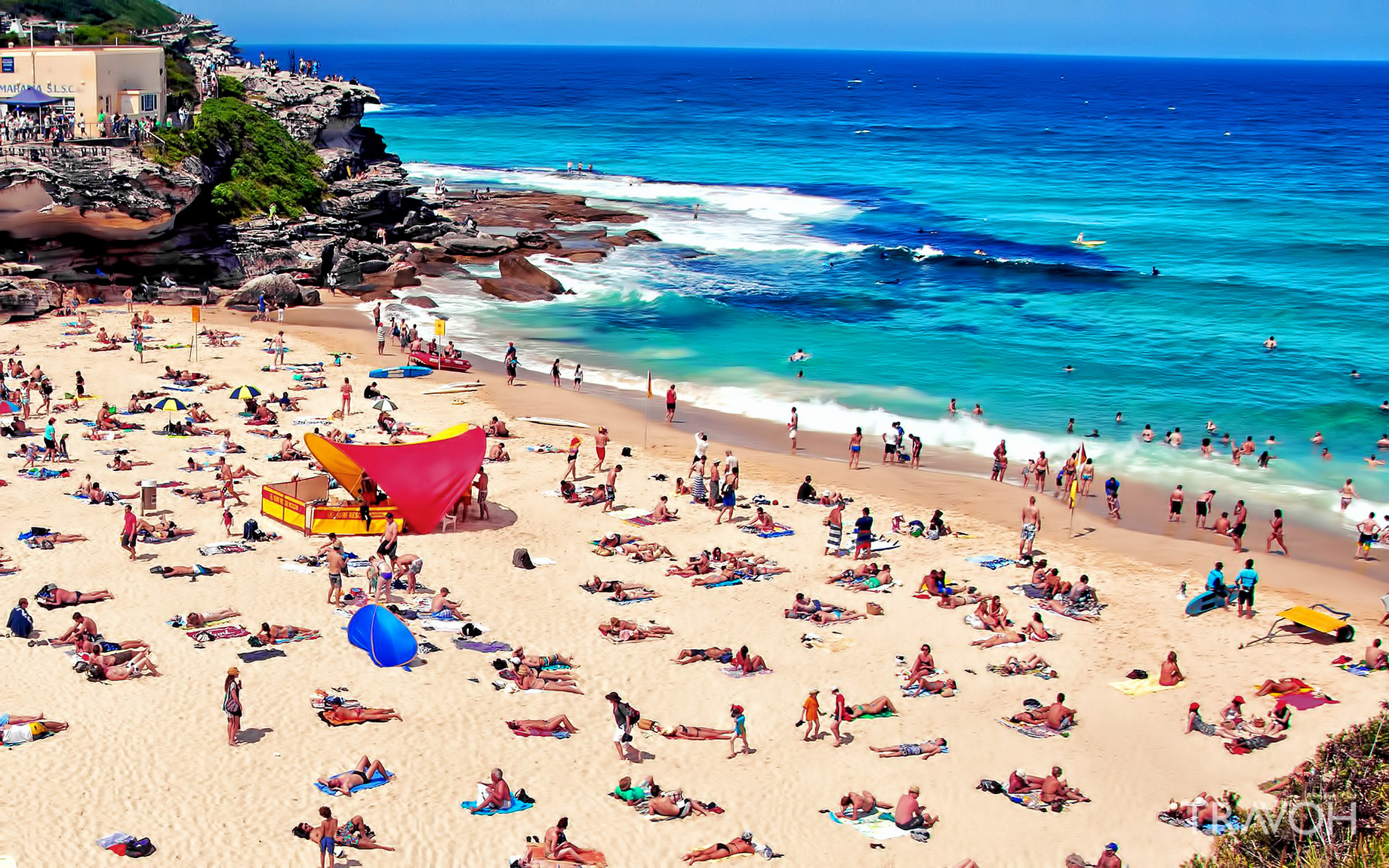 Tamarama Beach - Exploring 10 of the Top Beaches in Sydney, Australia