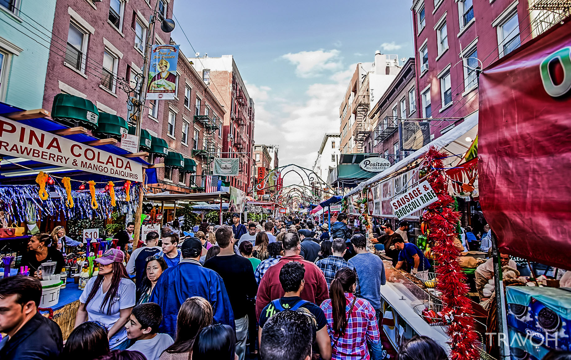 Festival of San Gennaro - Little Italy New York City