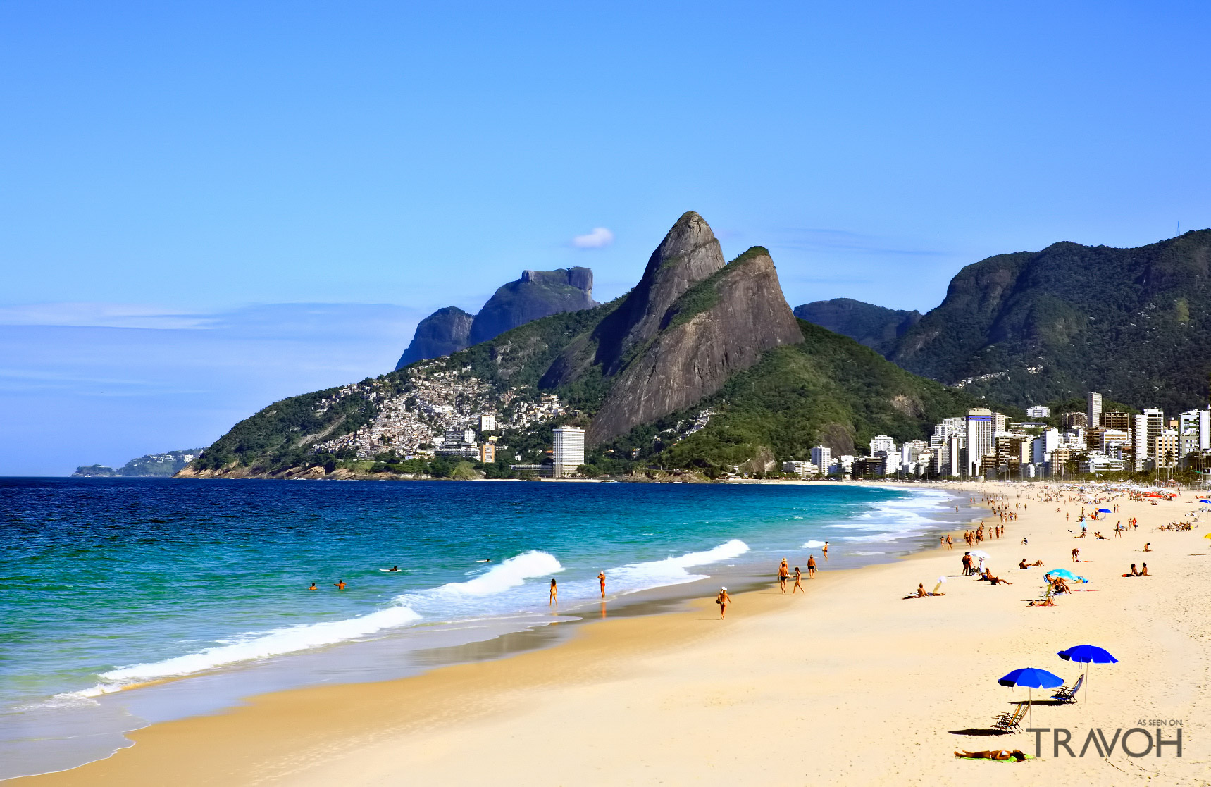 Leblon Beach - Exploring 10 of the Top Beaches in Rio de Janeiro, Brazil