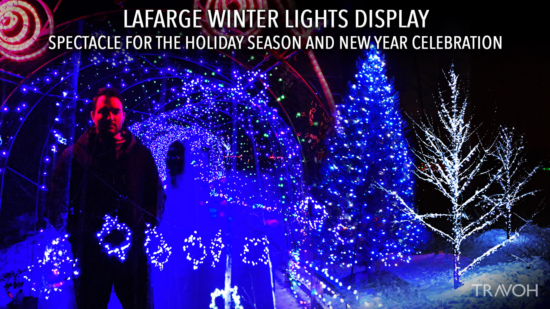 Lafarge Winter Lights Display – Spectacle for the Holiday Season and New Year Celebration – Marcus Anthony
