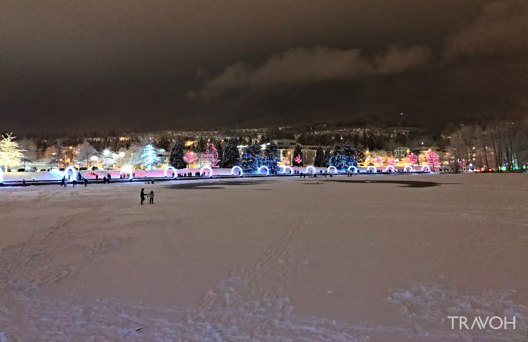 Lafarge Winter Lights Display - Spectacle for the Holiday Season and New Year Celebration