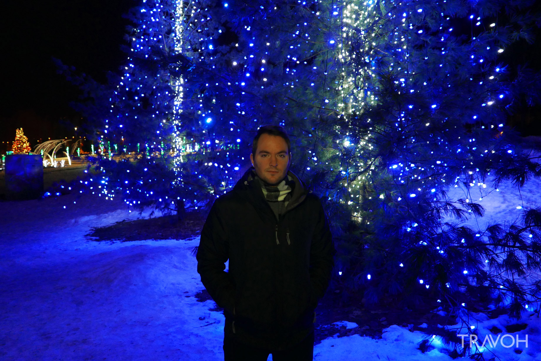 Marcus Anthony - Lafarge Winter Lights Display - Spectacle for the Holiday Season and New Year Celebration