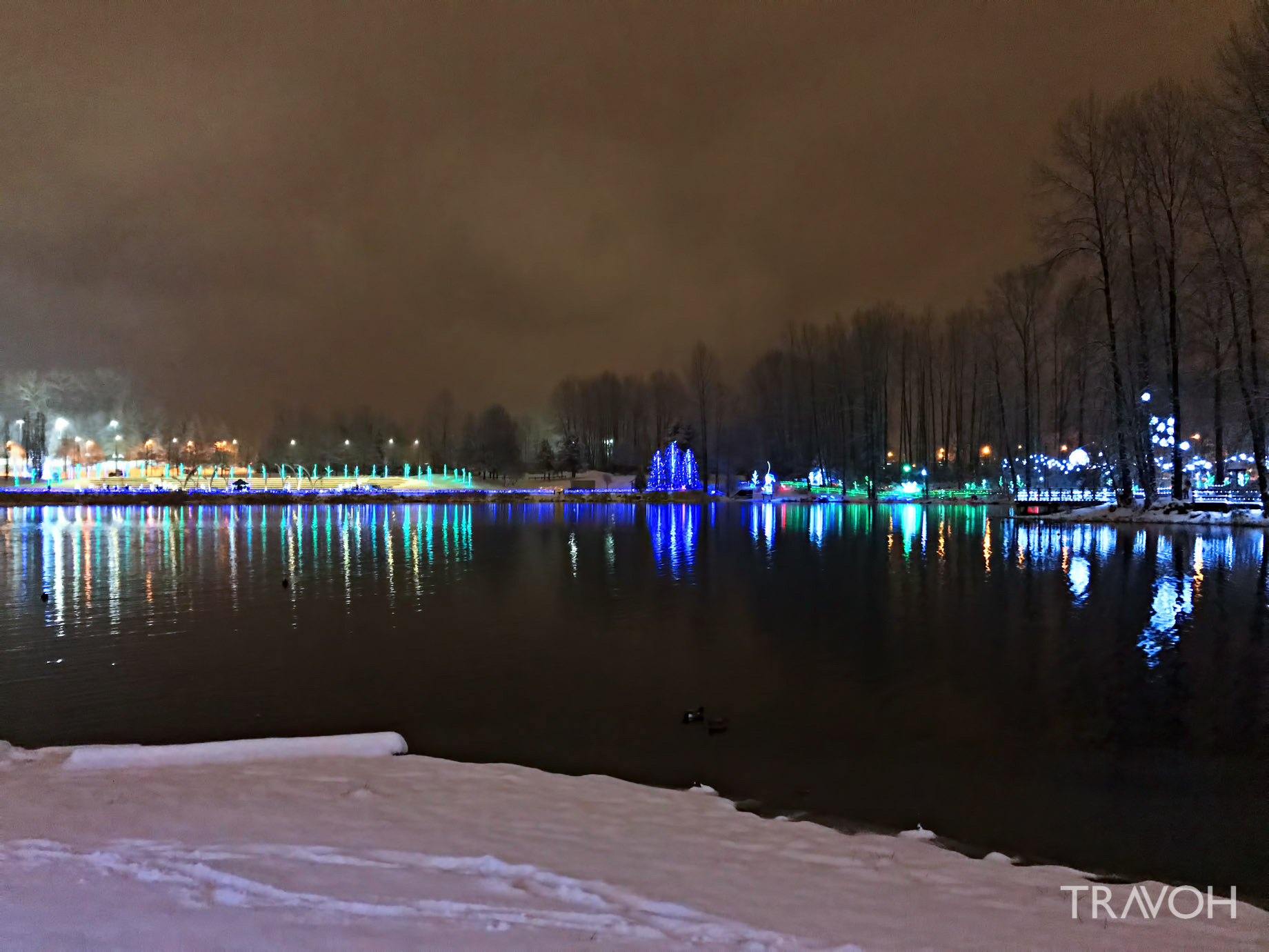 Lafarge Winter Lights Display – Arbour Walk – Coquitlam, BC, Canada