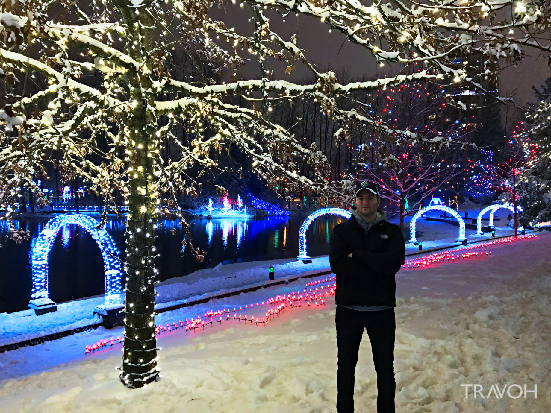 Marcus Anthony - Lafarge Winter Lights Display - Arbour Walk - Coquitlam, BC, Canada