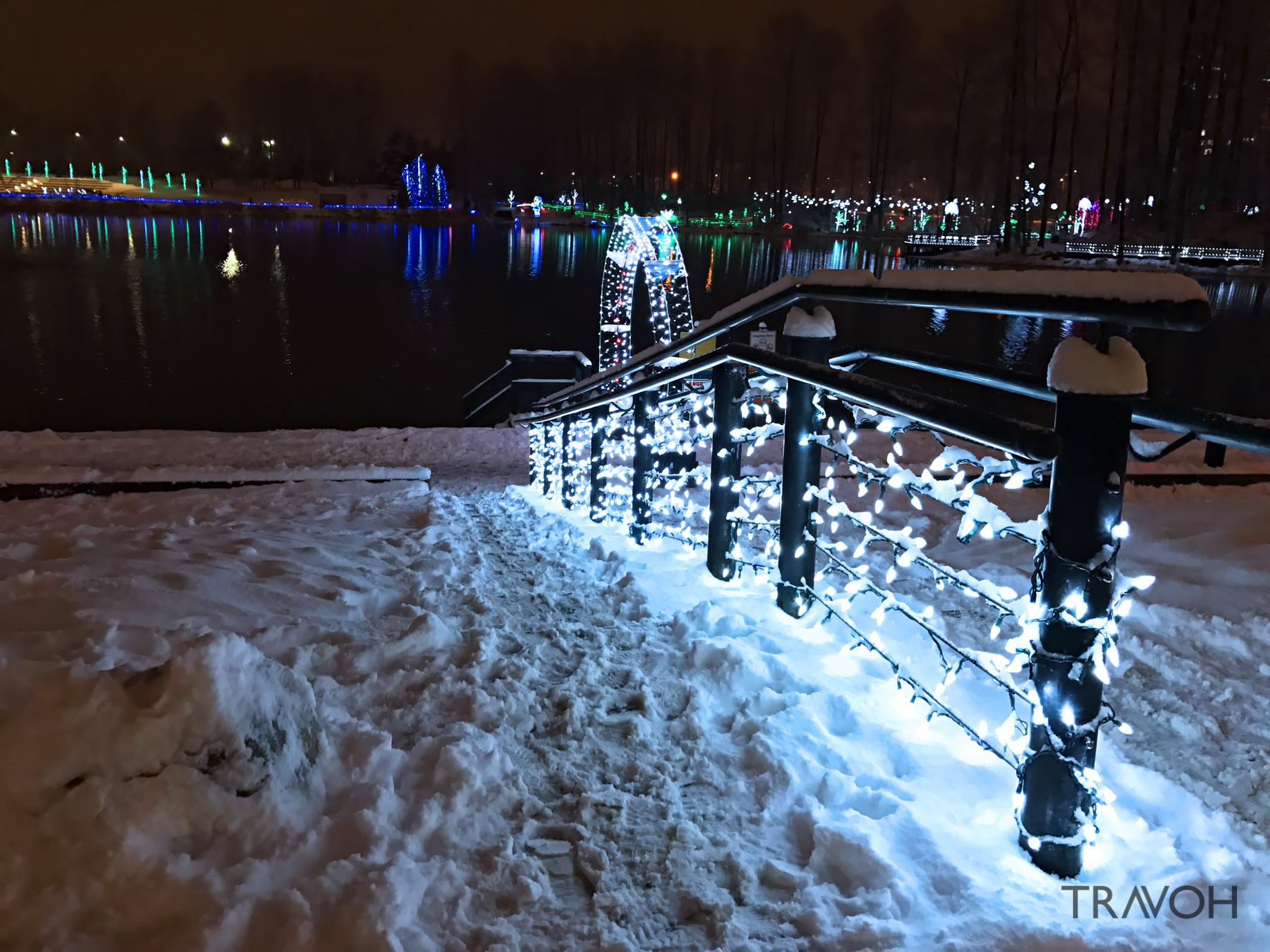 Lafarge Winter Lights Display - Arbour Walk - Coquitlam, BC, Canada