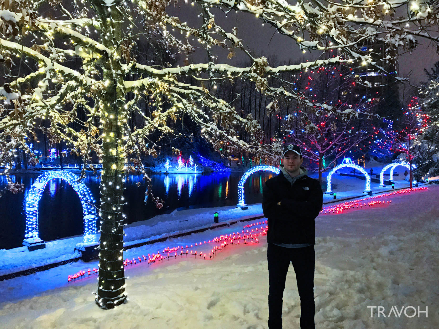 Marcus Anthony – Lafarge Winter Lights Display – Arbour Walk – Coquitlam, BC, Canada