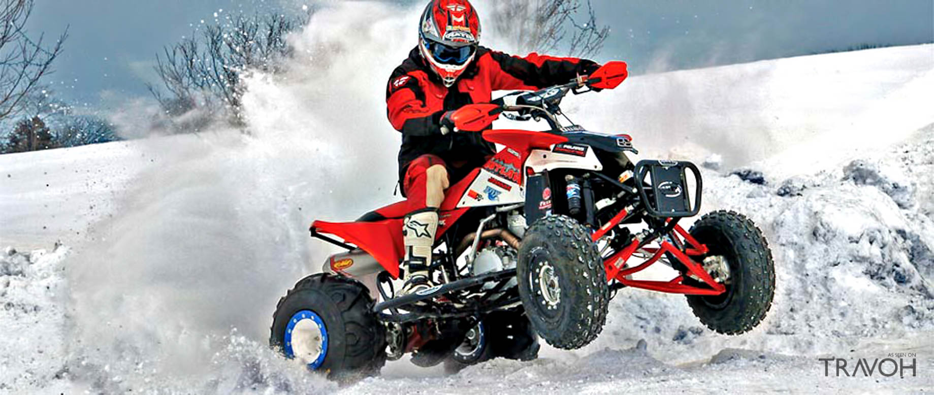 Quad Biking - The 10 Best Off-Piste Winter Activities in Courchevel, France