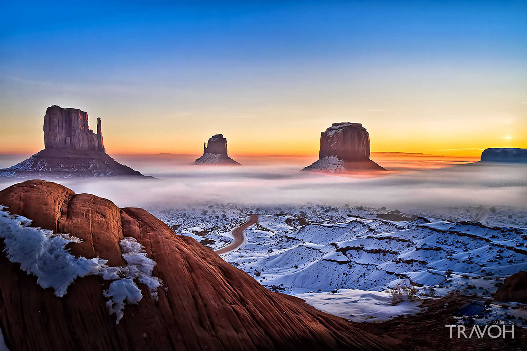 Monument Valley - A Daunting Region of the Colorado Plateau on the Arizona-Utah State Line