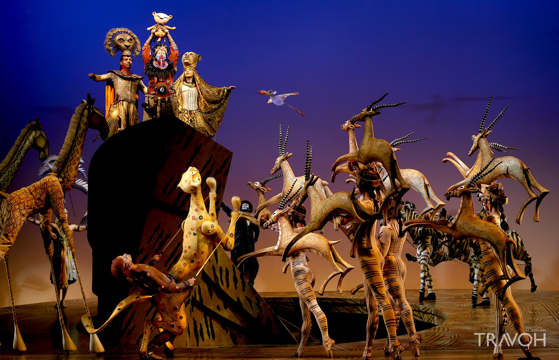 Catch a Performance of The Lion King on Broadway - The Top 5 Exciting Spring Break Activities in NYC for Young Kids