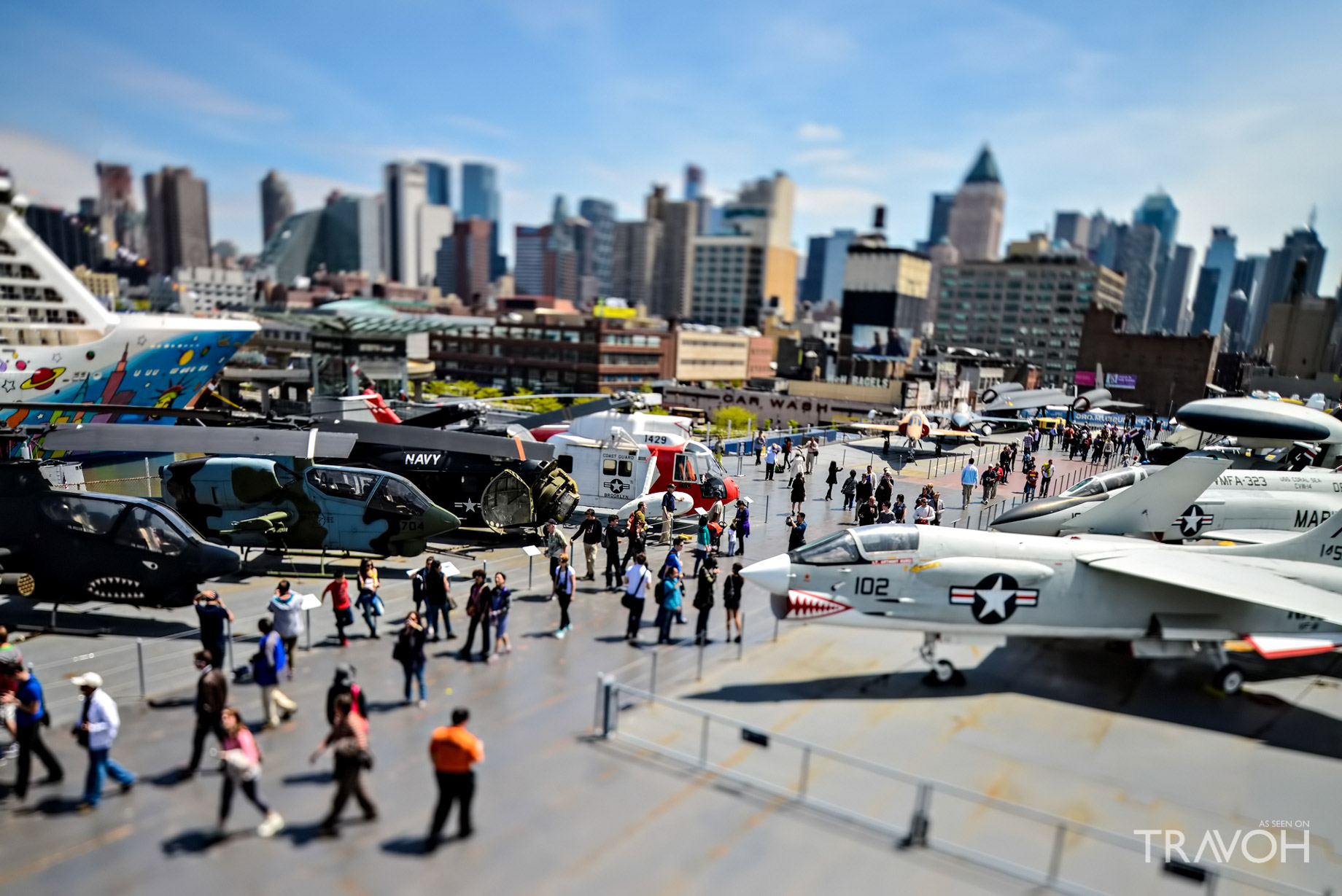Enjoy the Sights at the Intrepid Sea, Air & Space Museum - Pier 86, W 46th St & 12th Ave, New York, NY, USA