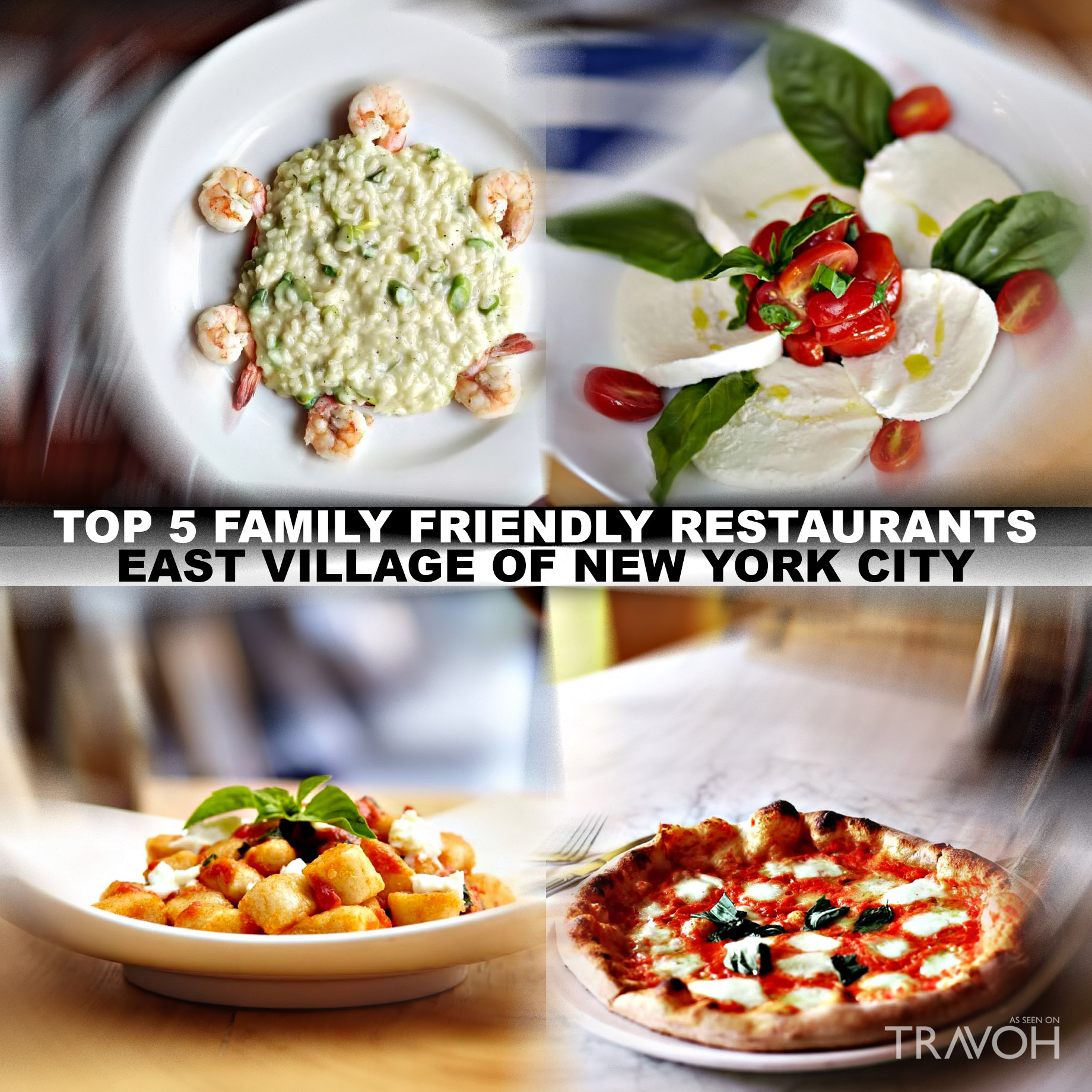 Top 5 Family Friendly Restaurants in the East Village of New York City