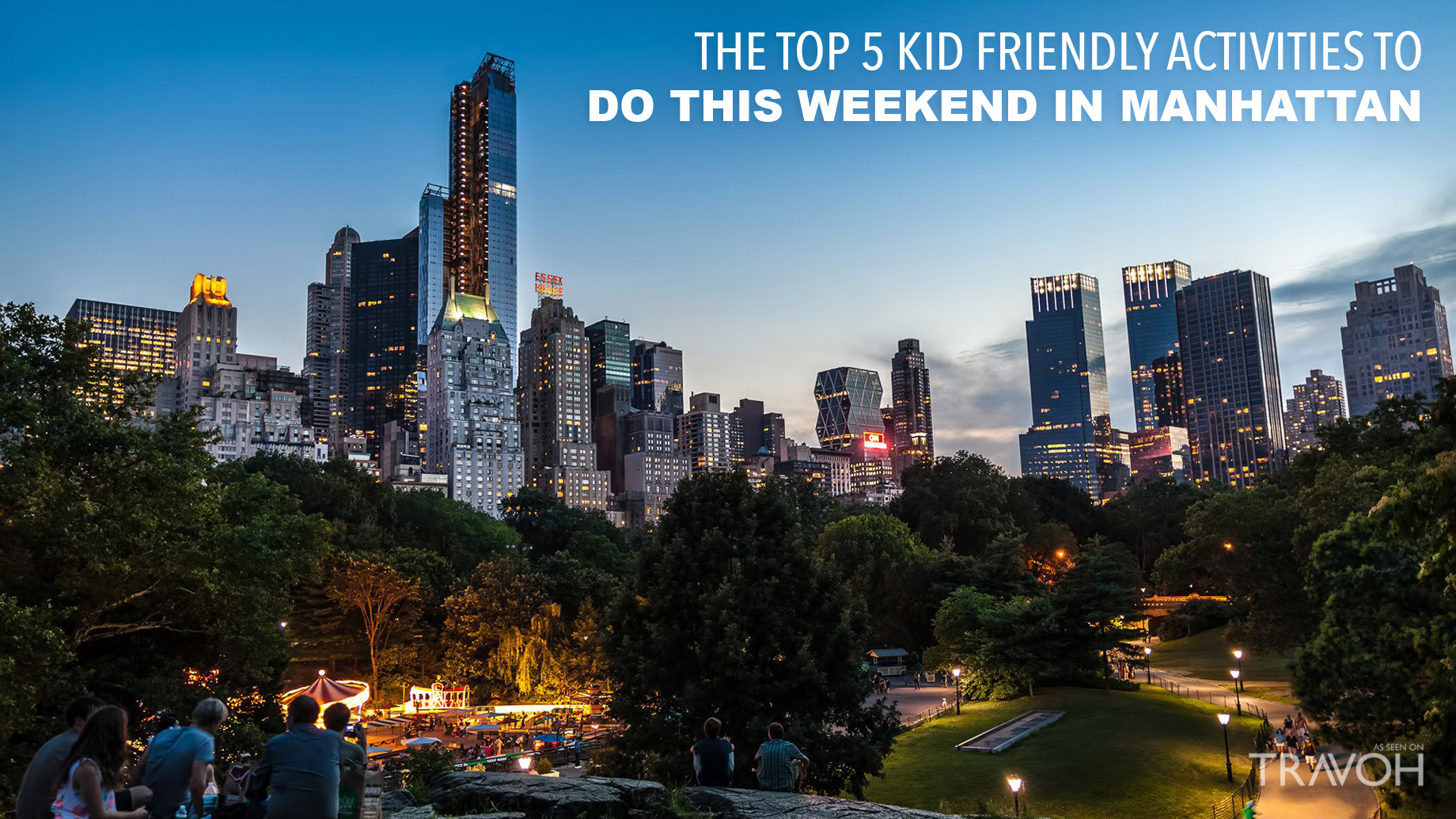 The Top 5 Kid-Friendly Activities to Do This Weekend in Manhattan