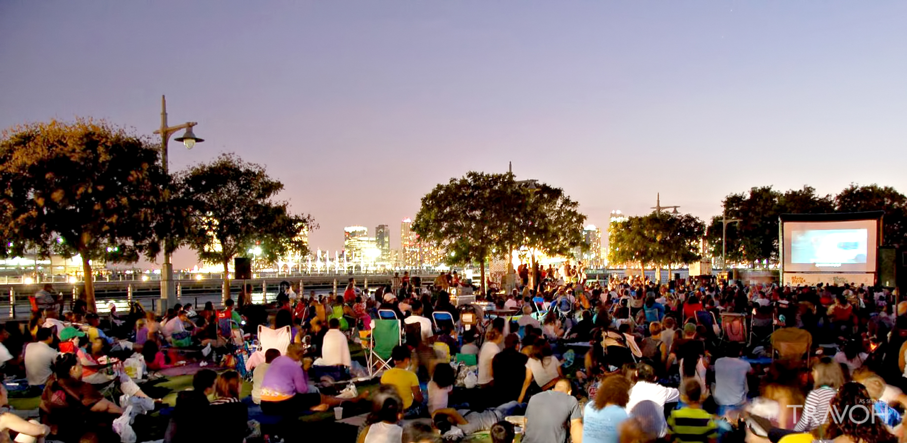 Catch a Movie at Hudson River Park
