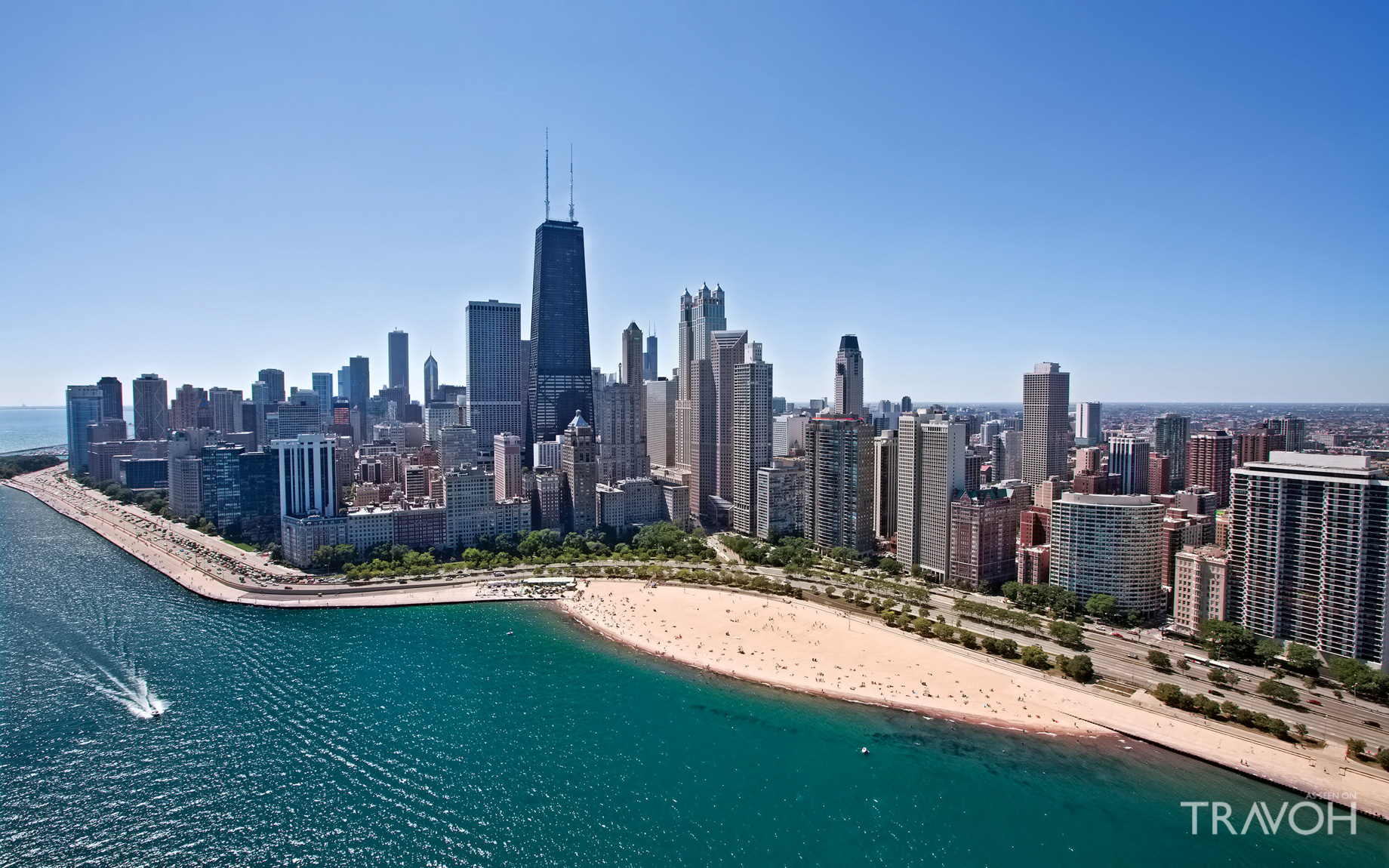 Oak Street Beach - Chicago, IL, USA