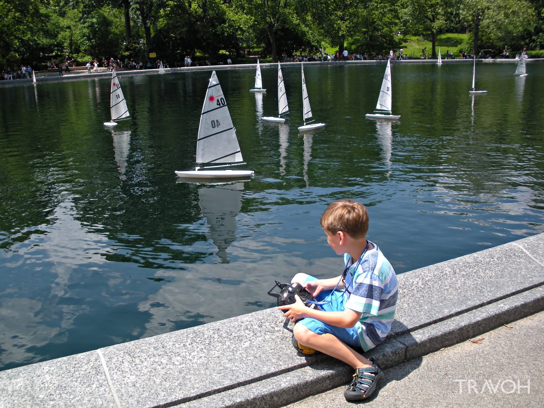 Sail the Park - Central Park Conservatory Water, New York, NY, USA