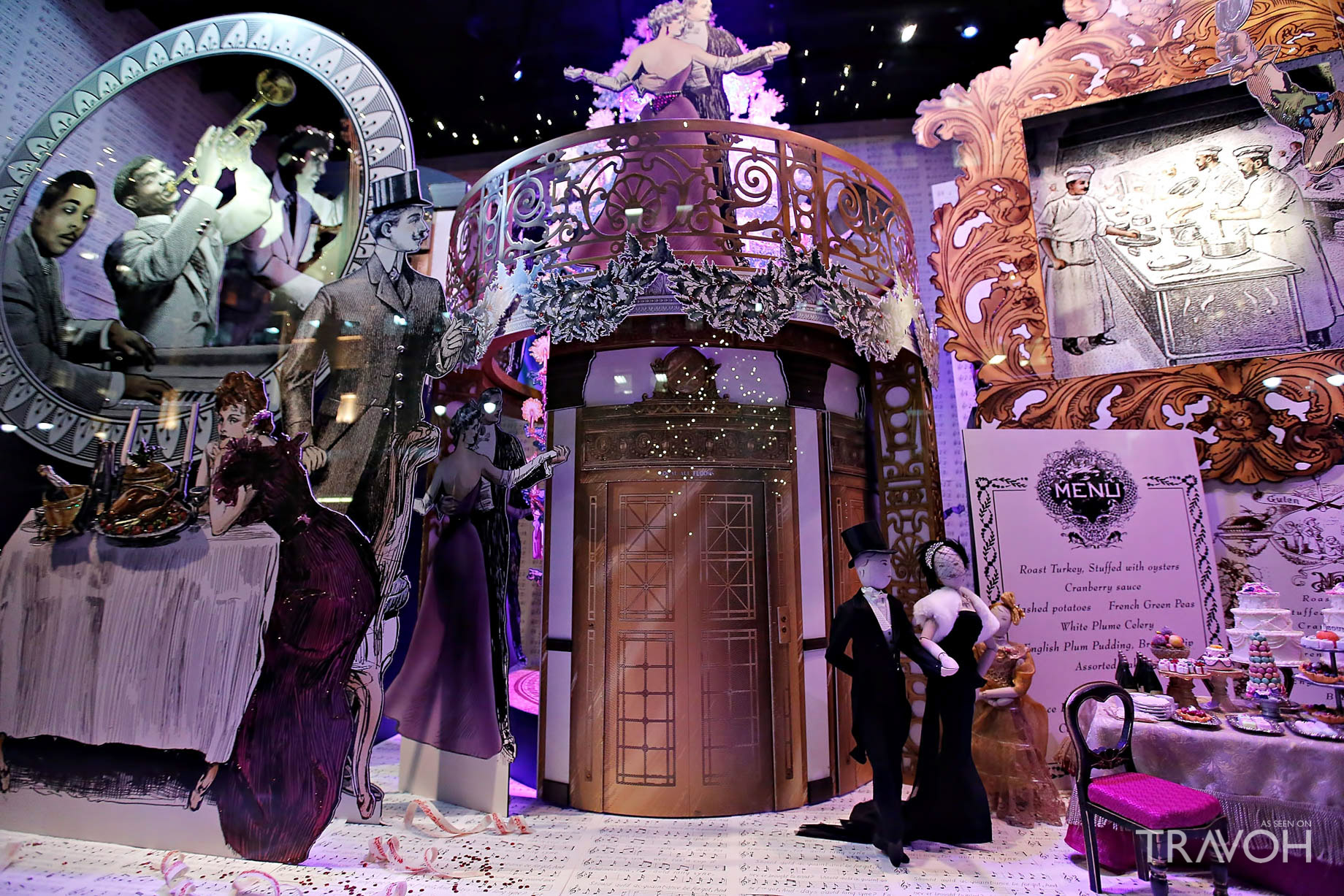 Department Store Holiday Windows in New York City