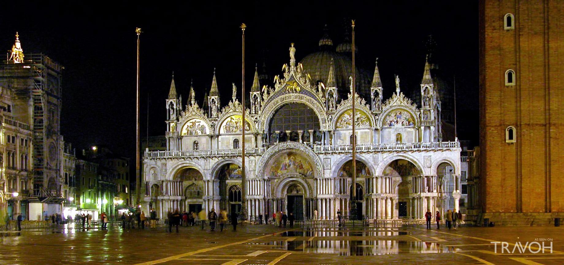 Midnight Mass at Saint Mark's Basilica - Venice, Italy