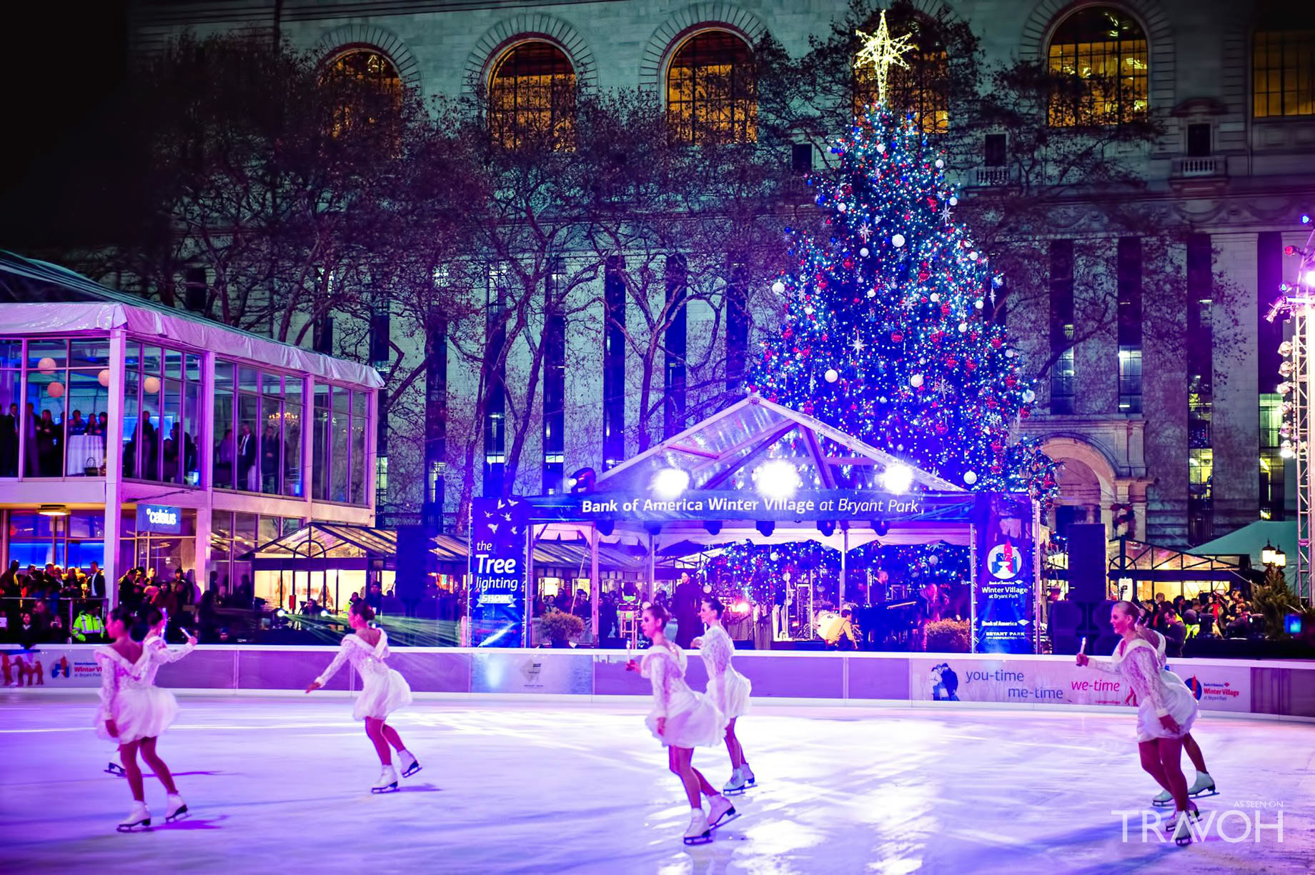 The Bryant Park Winter Village - New York, NY, USA