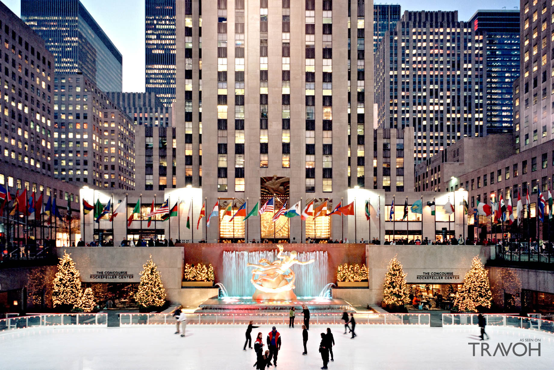 The Rink at Rockefeller Center - 600 5th Ave, New York, NY, USA
