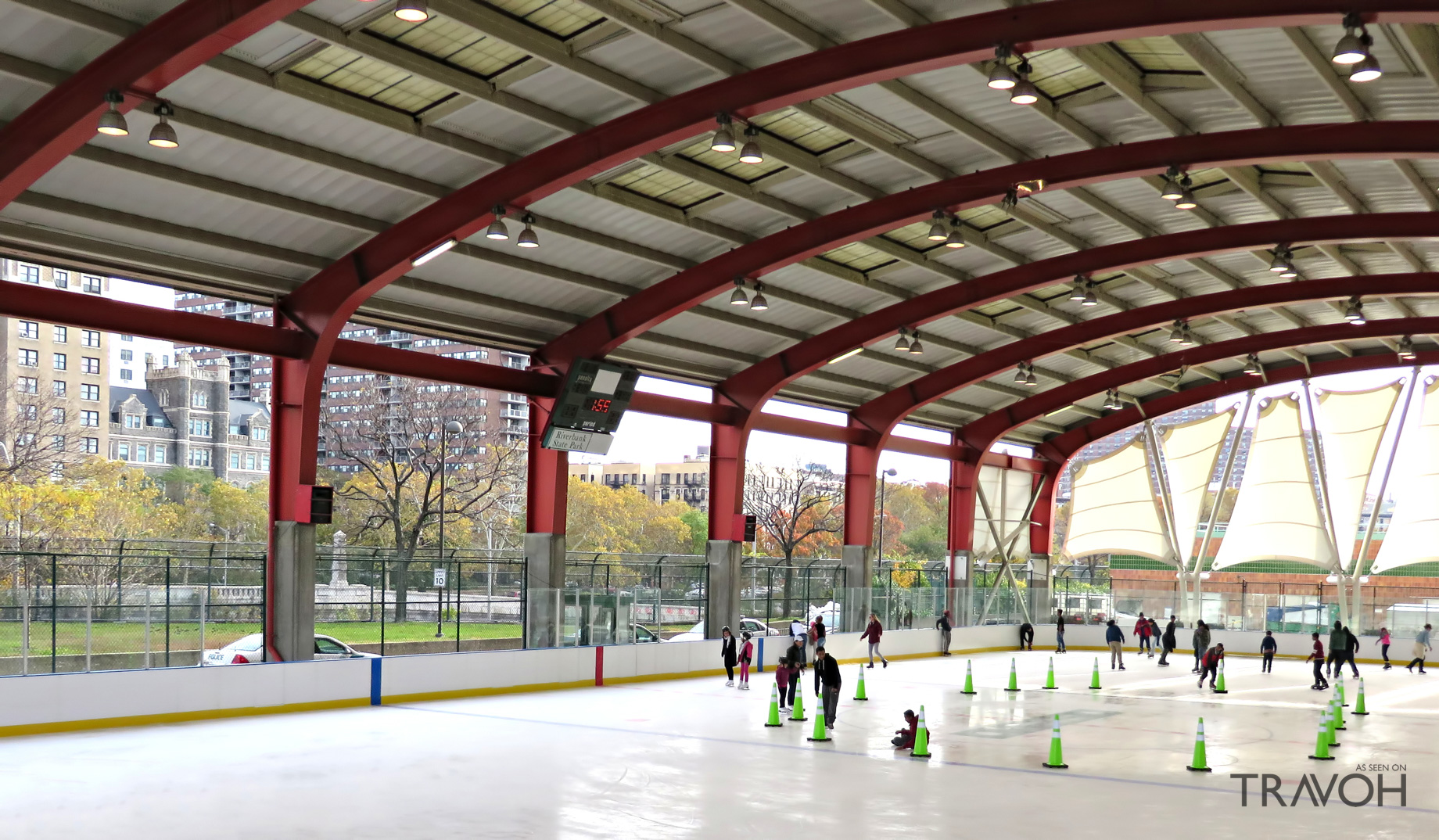 Riverbank State Park Ice Skating Rink - 679 Riverside Dr, New York, NY, USA