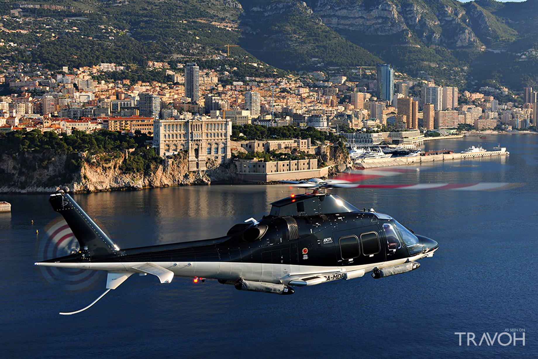 Skycam Helicopters - Private Luxury Flights to the Island of Porquerolles Island, France