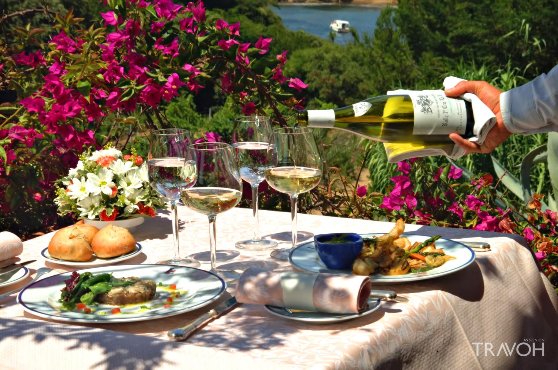 Le Mas du Langoustier Restaurant - Porquerolles Island, France - A Sanctuary of Gastronomy