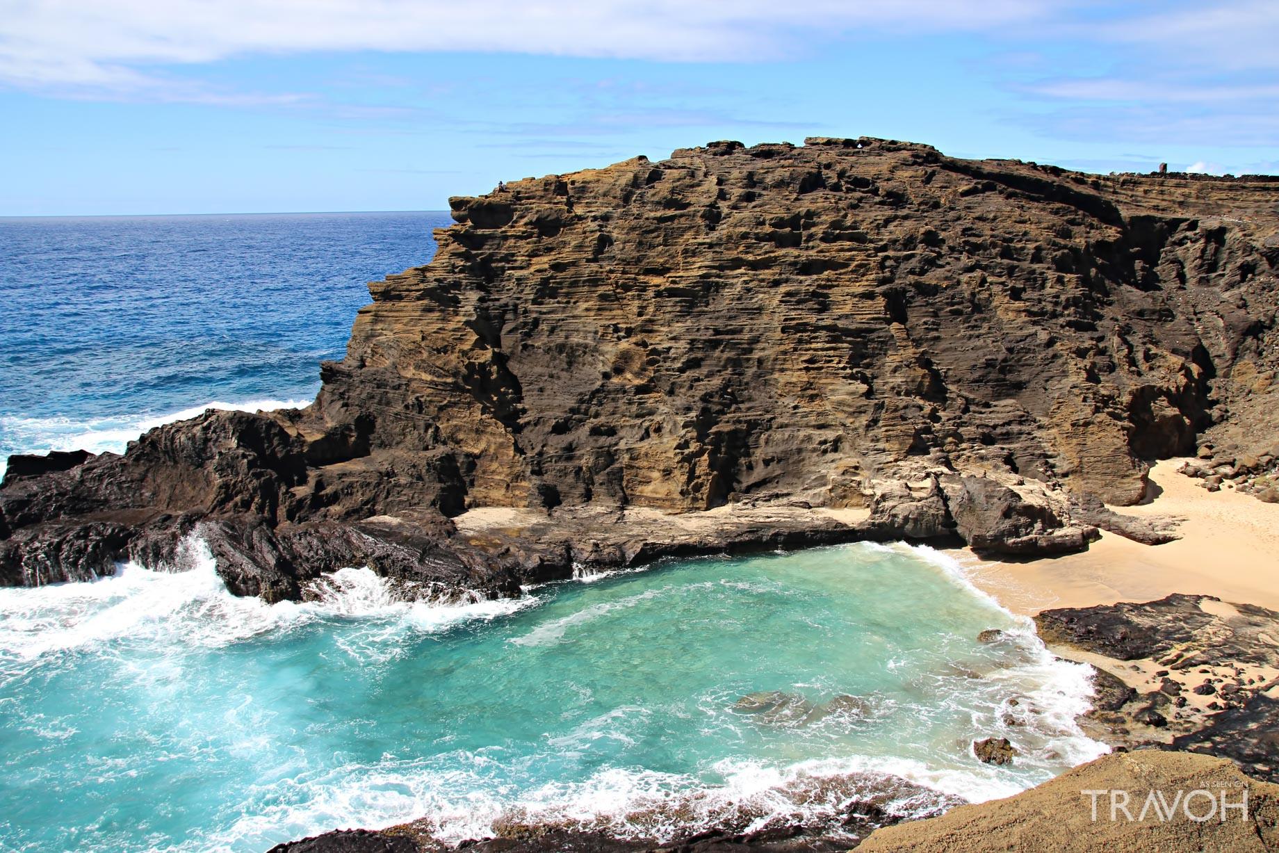 Eternity Beach at Halona Cove - Oahu, Hawaii