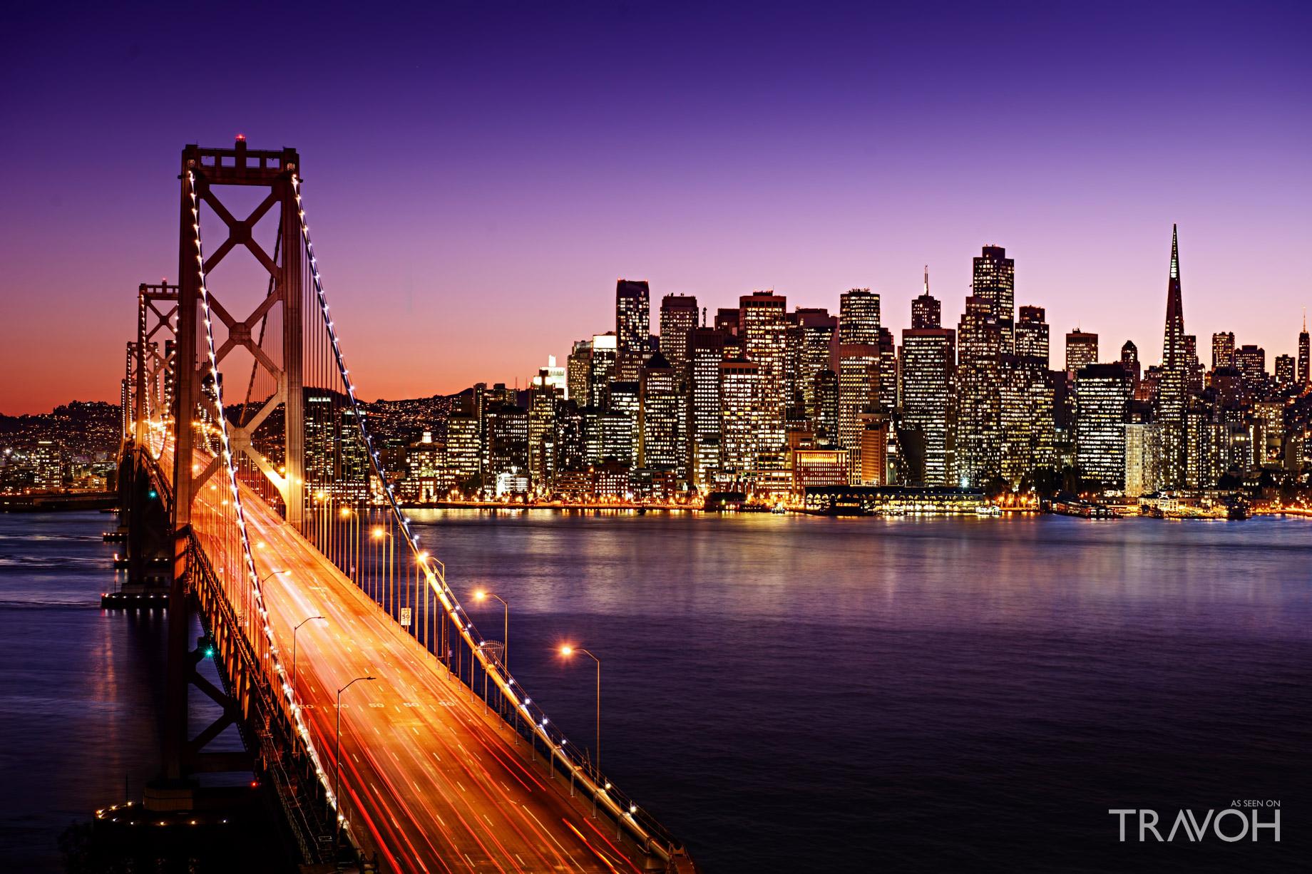 Bay Bridge - San Francisco - Oakland Bay Bridge - San Francisco, CA, USA