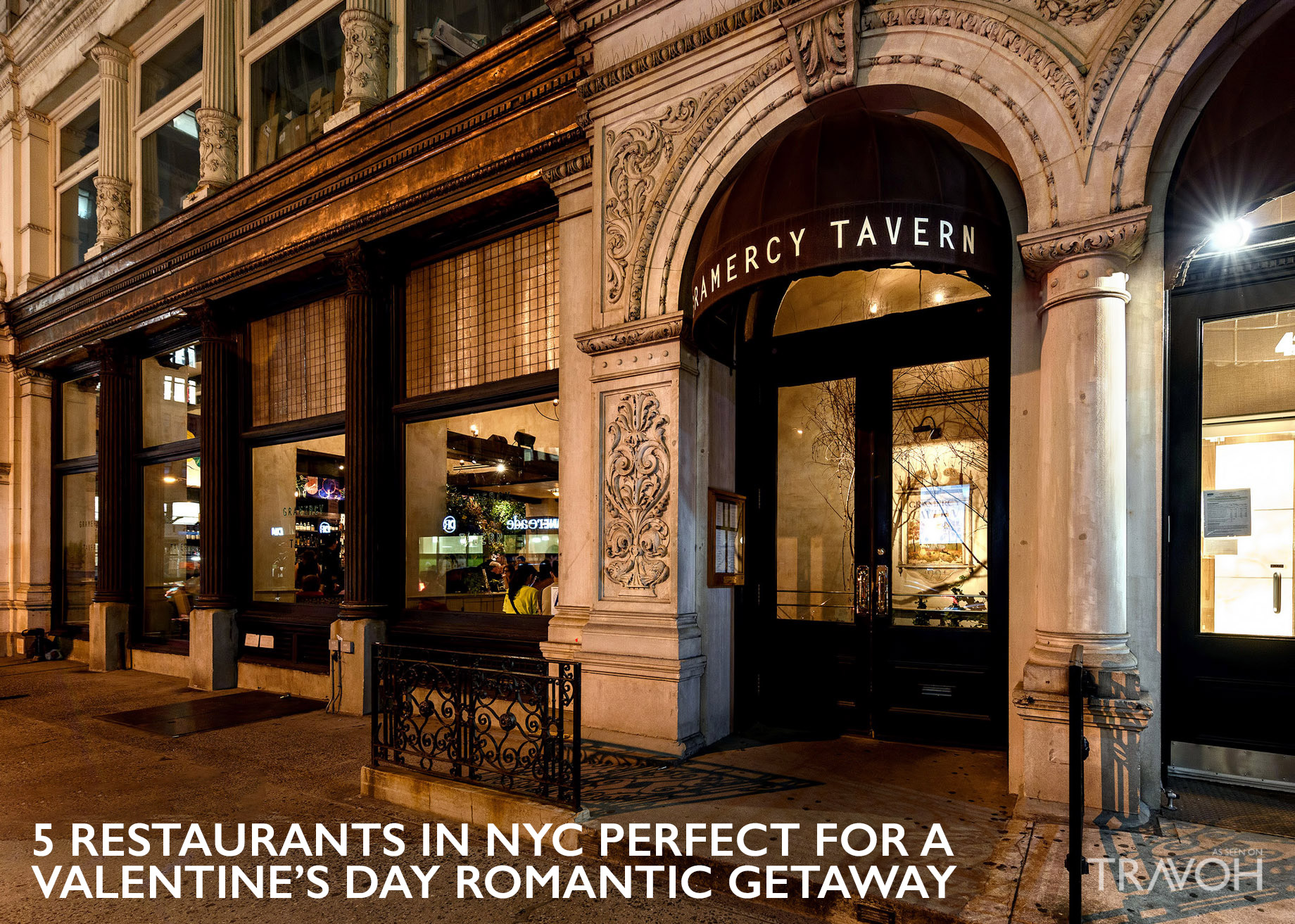 5 Restaurants in NYC Perfect for a Valentine's Day Romantic Getaway