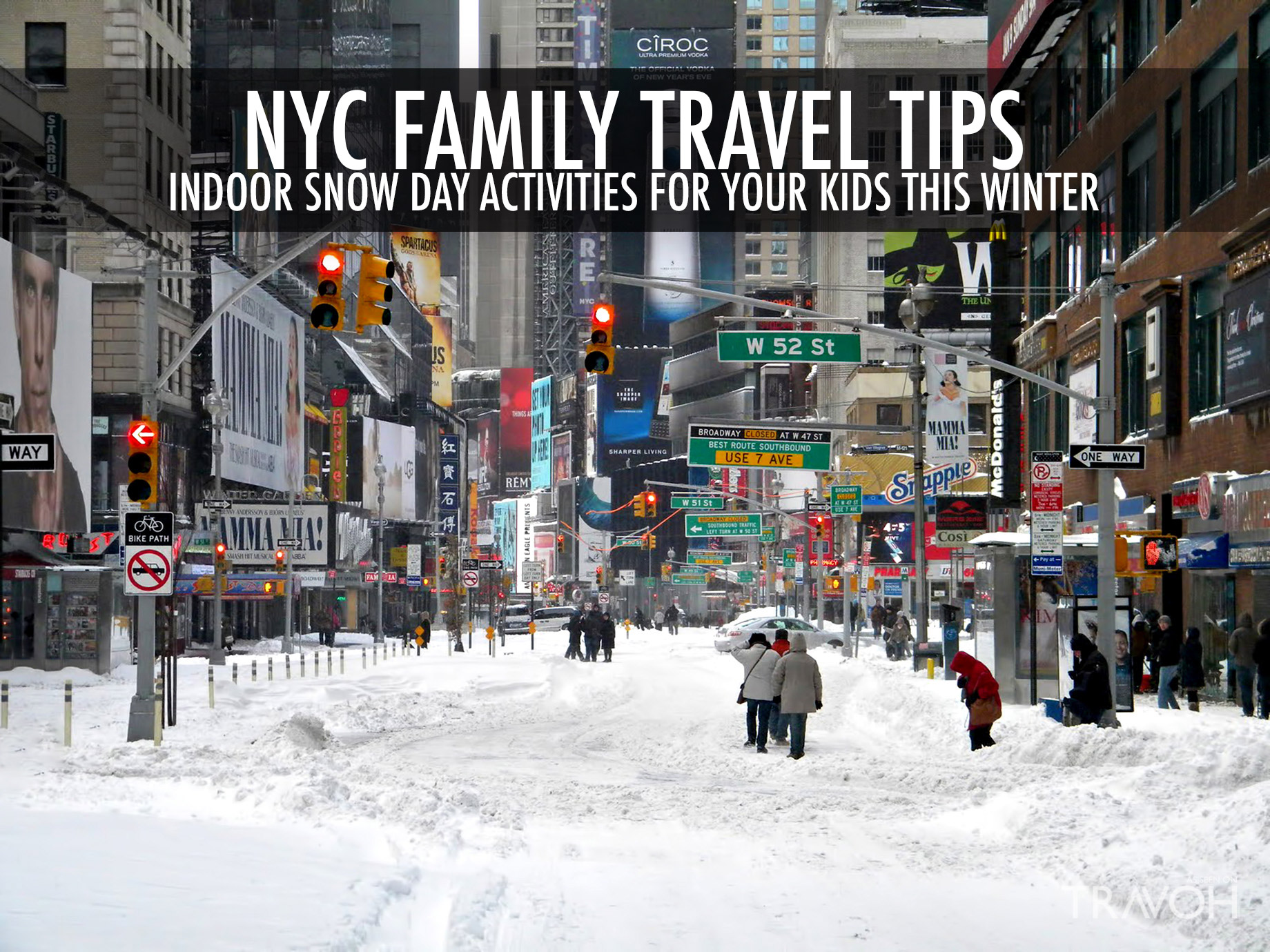 NYC Family Travel Tips - Indoor Snow Day Activities for Your Kids This Winter