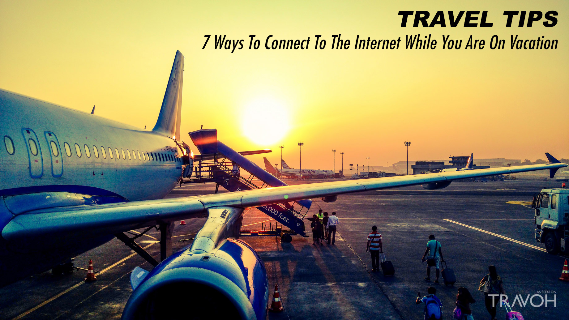 Travel Tips - 7 Ways To Connect To The Internet While You Are On Vacation