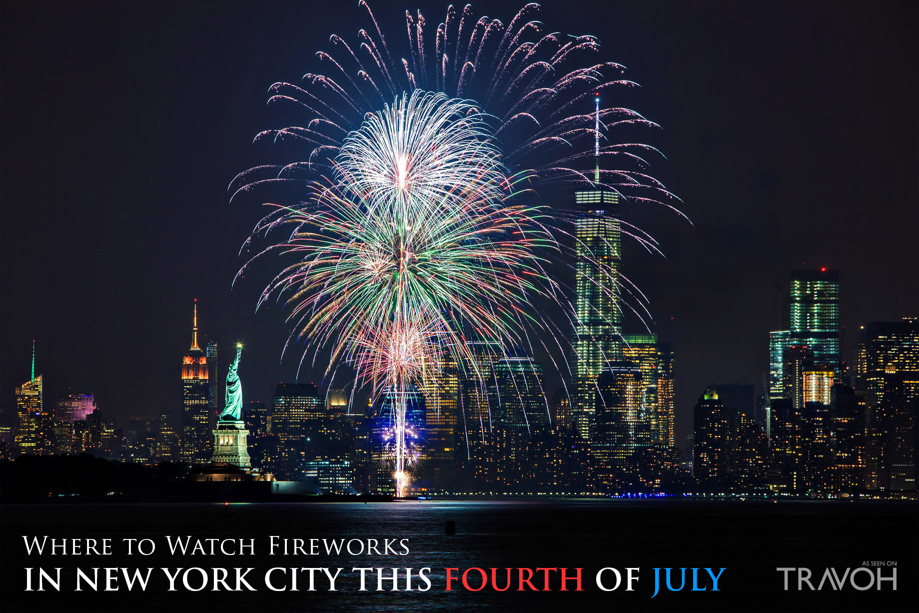 Where to Watch Fireworks in New York City this Fourth of July