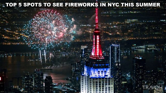 Top 5 Spots to See Fireworks in NYC this Summer