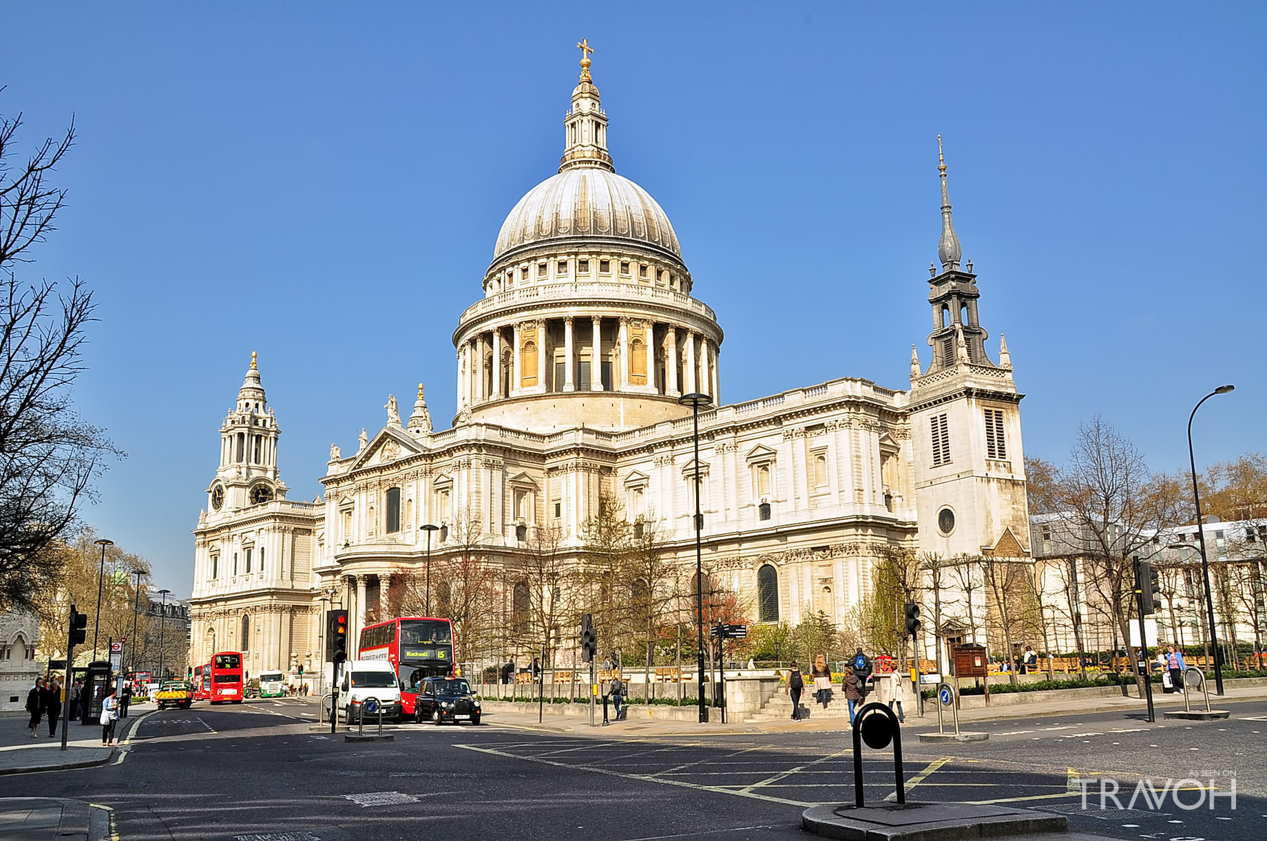 St Pauls Cathedral - St Pauls Churchyard, London, United Kingdom