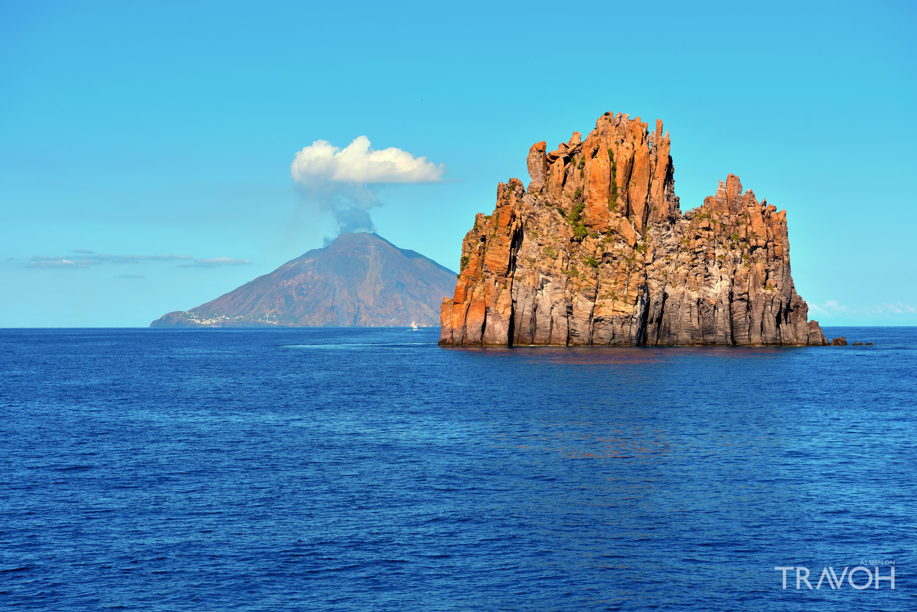 Yachting the Mediterranean - Visit an Active Volcano on the Island of Stromboli, Italy