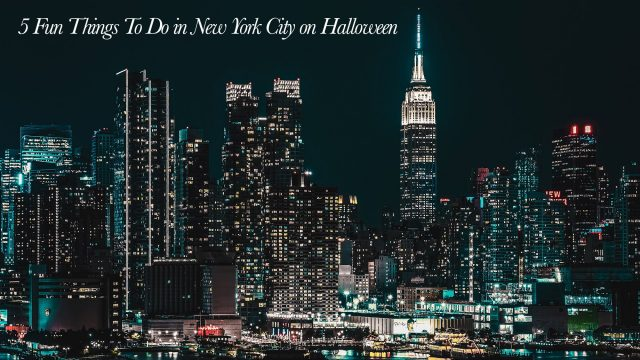 5 Fun Things To Do in New York City on Halloween