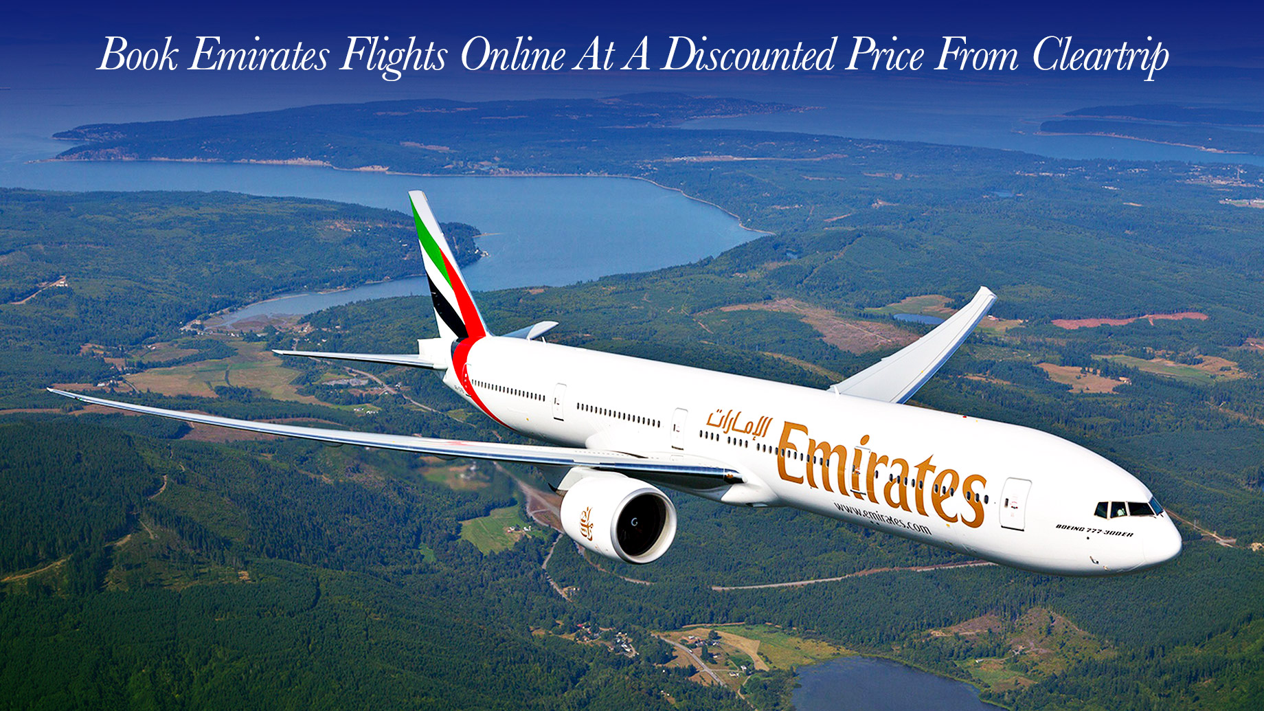 Book Emirates Flights Online At A Discounted Price From Cleartrip
