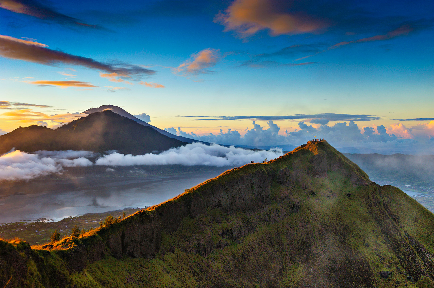 Don't miss the stunning sunrise from Mount Batur - Bali, Indonesia