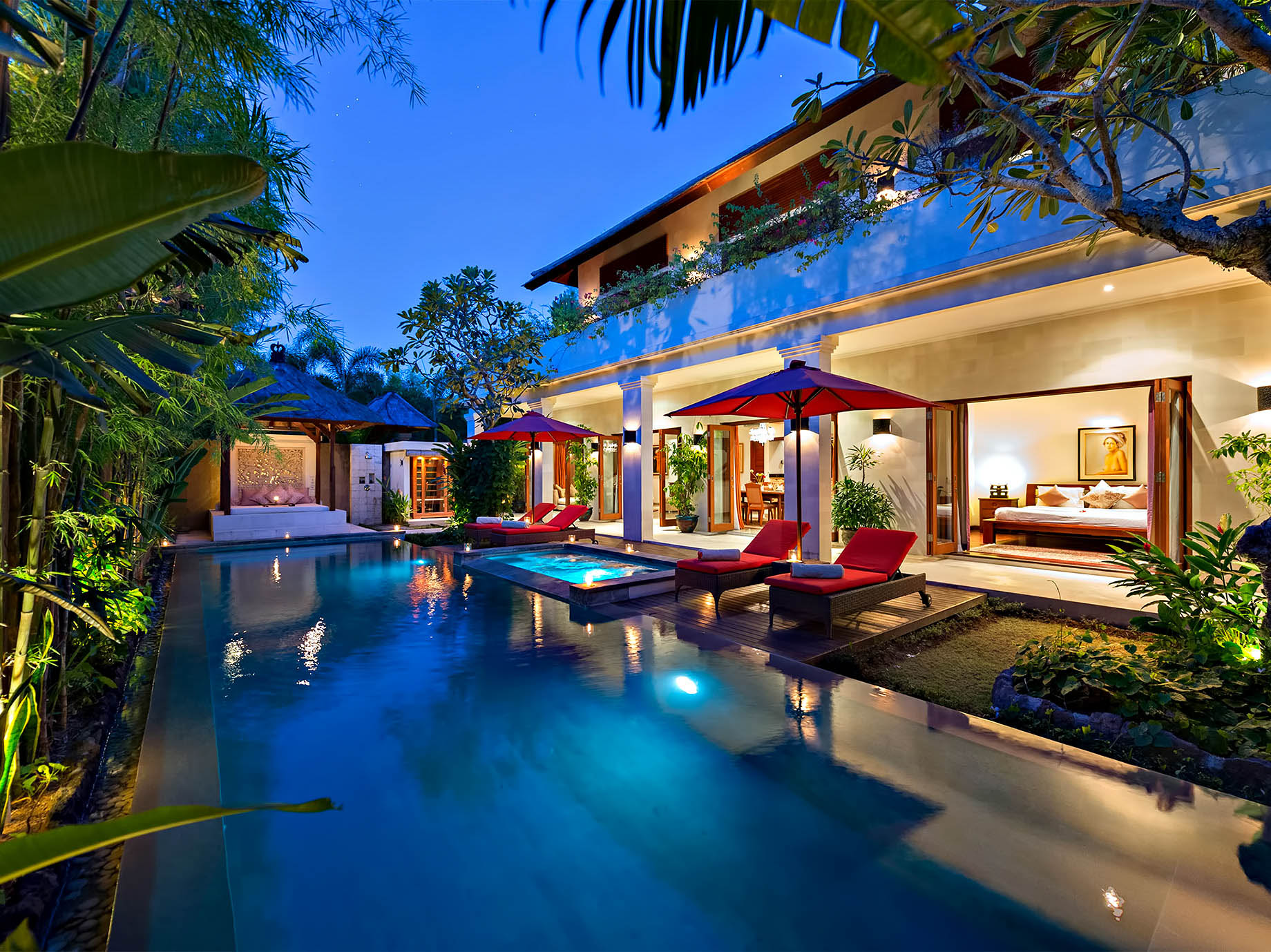 Book a villa to enjoy your own space on your own time - Bali, Indonesia