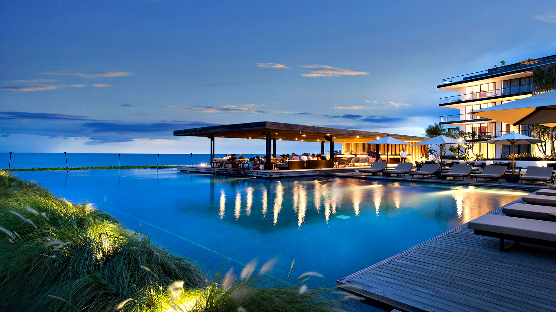 Cheers to your wonderful trip at a Seminyak beach club - Bali, Indonesia