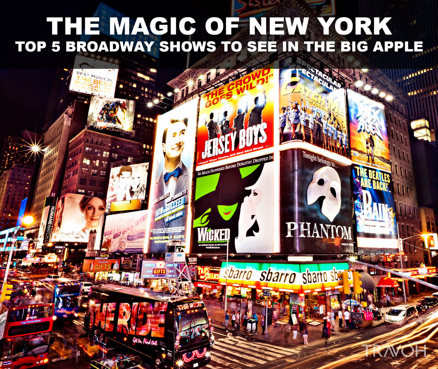 The Magic of New York - Top 5 Broadway Shows to See in the Big Apple