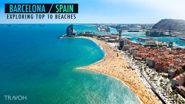 Exploring 10 of the Top Beaches in Barcelona, Spain