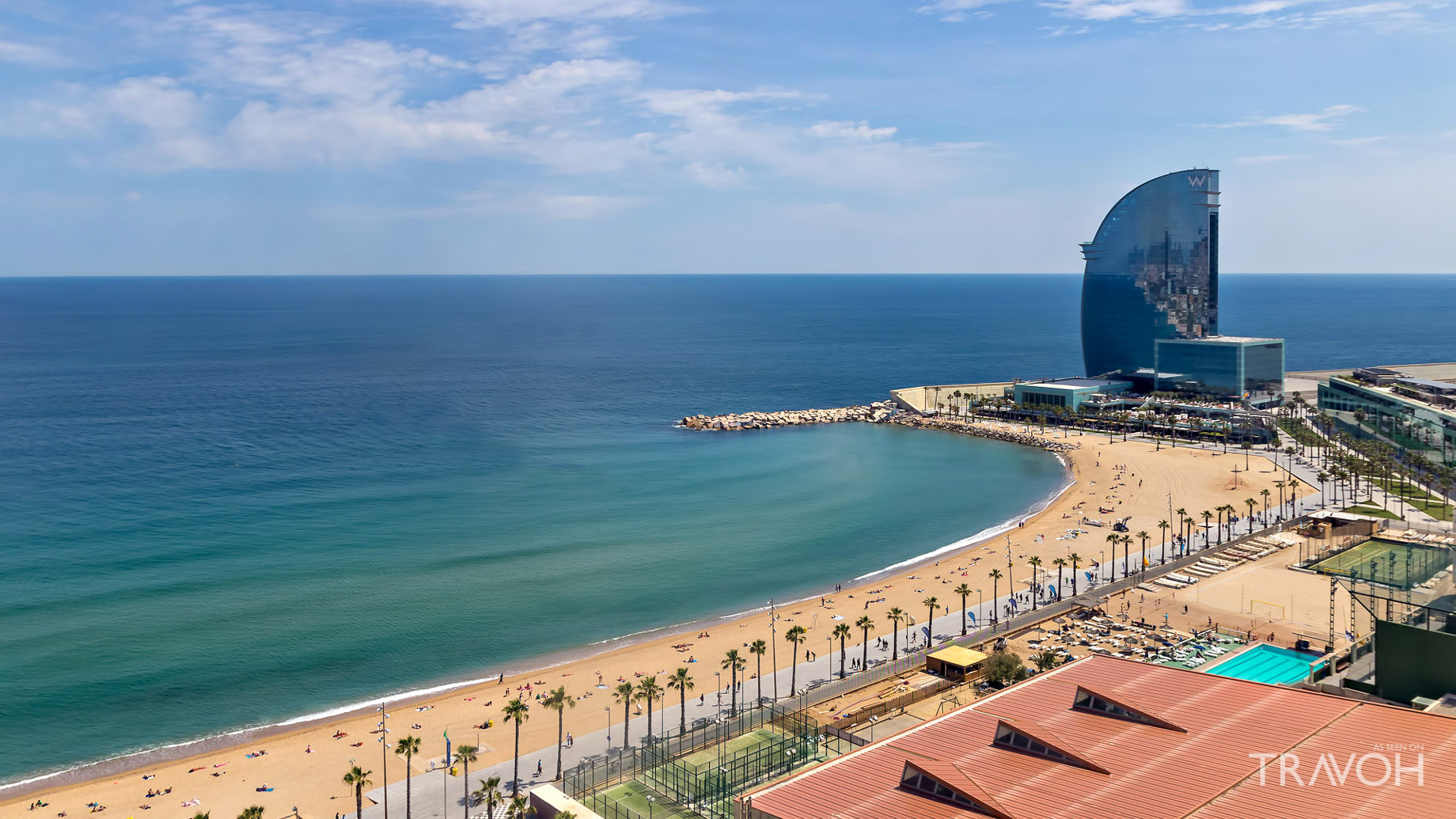 Sant Sebastia Beach - Exploring 10 of the Top Beaches in Barcelona, Spain