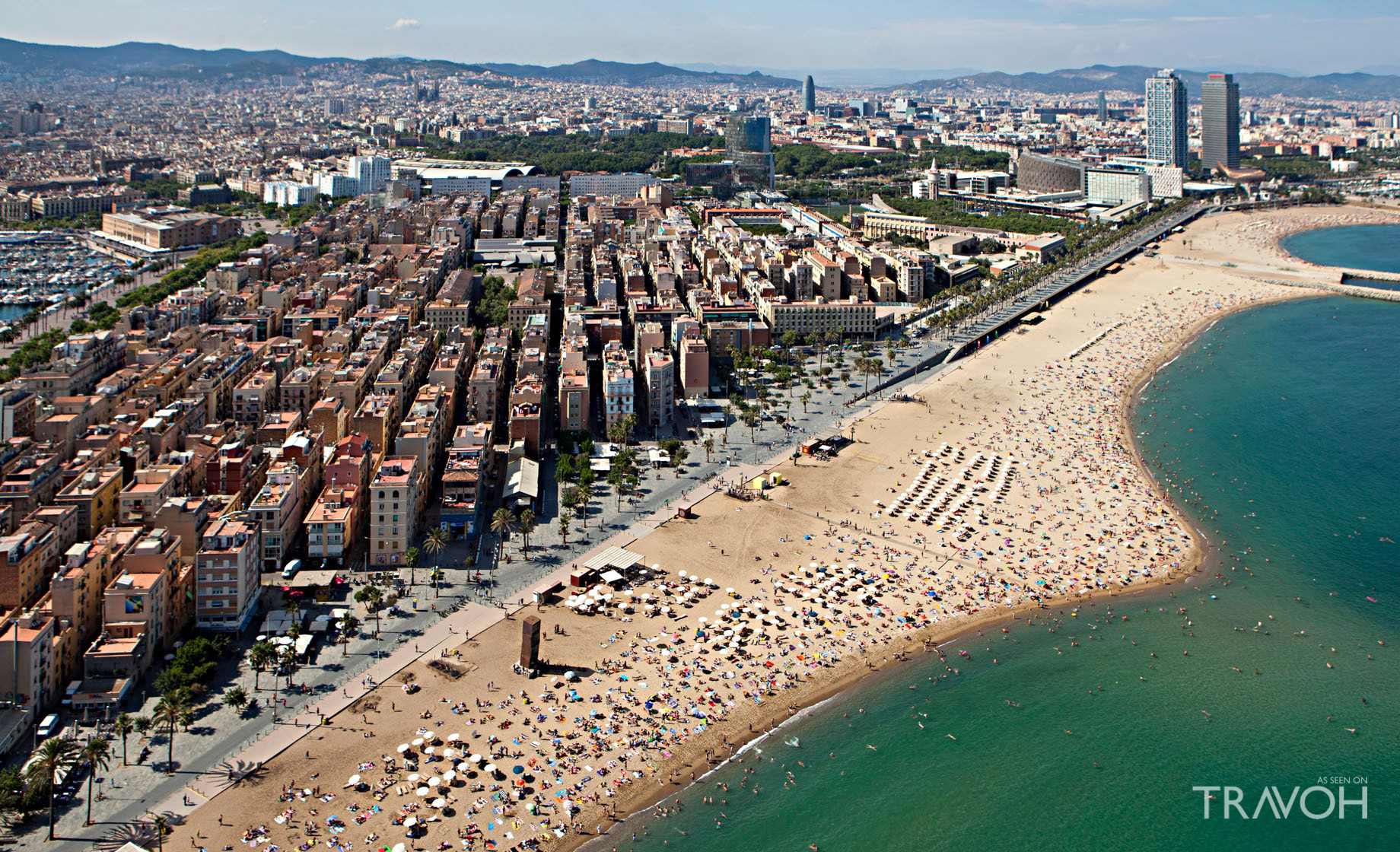Barceloneta Beach - Exploring 10 of the Top Beaches in Barcelona, Spain