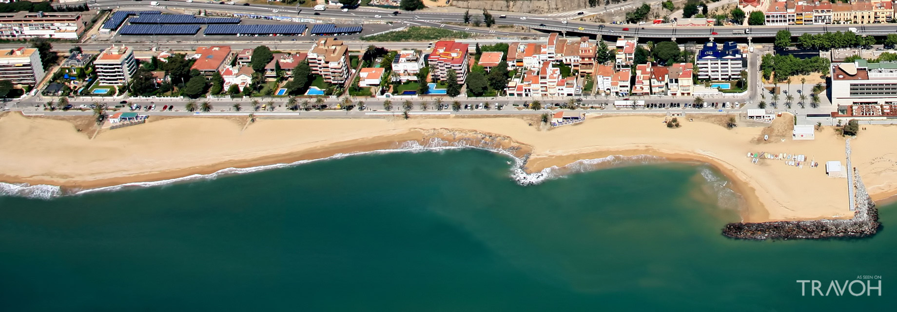 Caldetes Beach - Caldes d'Estrac - Exploring 10 of the Top Beaches in Barcelona, Spain
