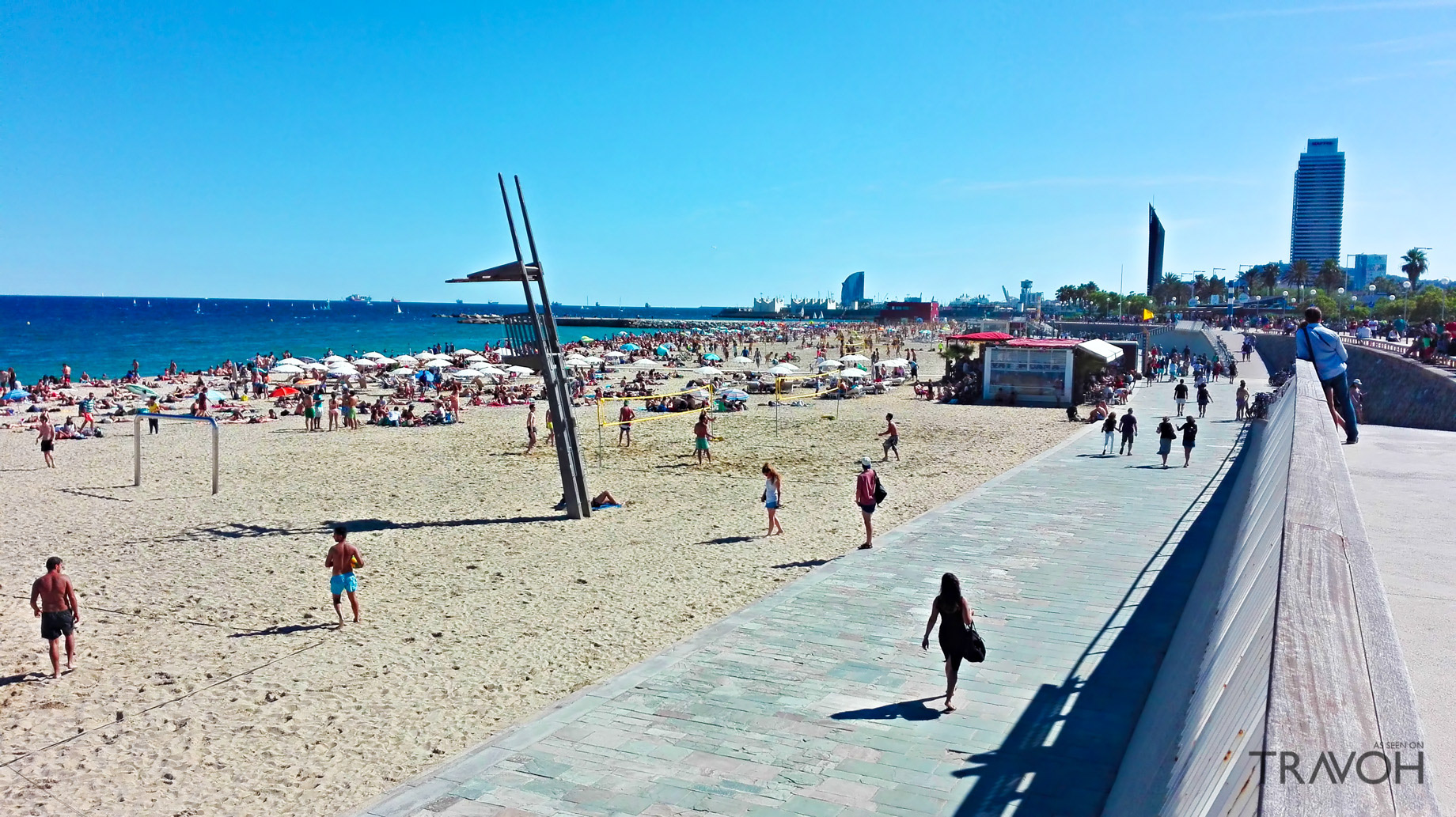 Bogatell Beach - Exploring 10 of the Top Beaches in Barcelona, Spain